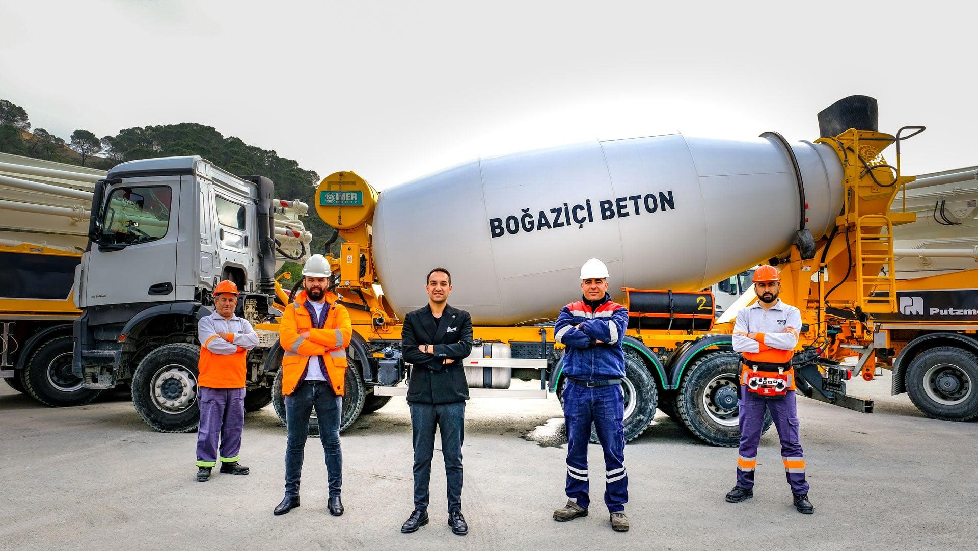 Boğaziçi Beton Borsa İstanbul Yıldız Pazar'da İşlem Görmeye Başladı